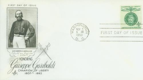 1960 4c Giuseppe Garibaldi