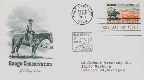1961 4c Range Conservation