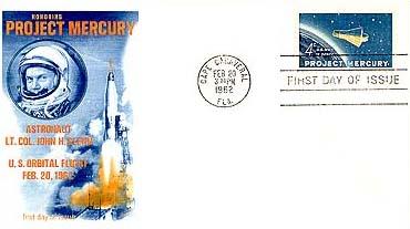 1962 4c Project Mercury