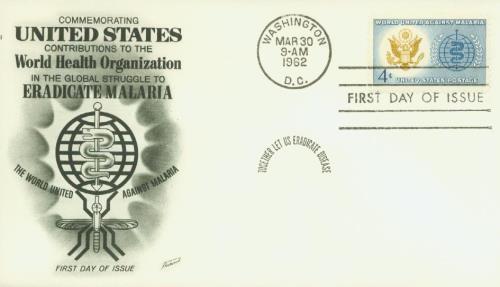 1962 4c Malaria Eradication