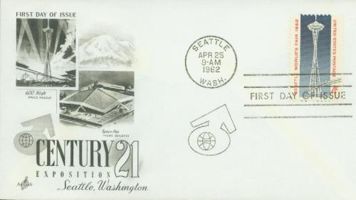 1962 4c Seattle World's Fair