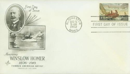 U.S. #1207 FDC – 1962 Homer First Day Cover.