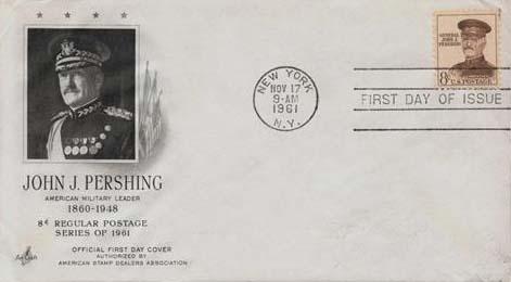 1961 8c John J. Pershing