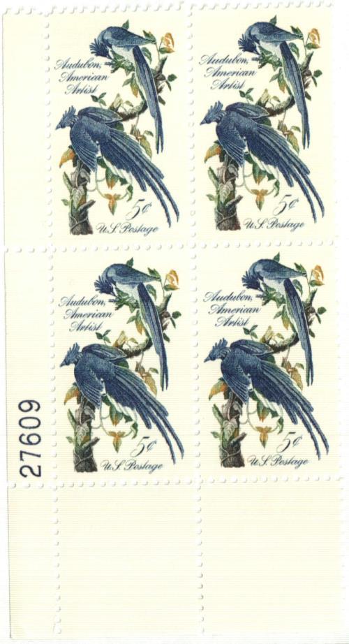 1963 5c John James Audubon