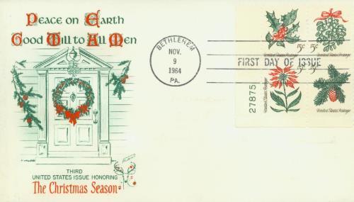 1964 5c Christmas