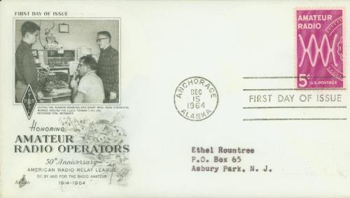 1964 5c Amateur Radio