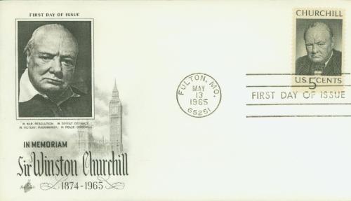 1965 5c Winston Churchill