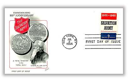 1965 5c Salvation Army