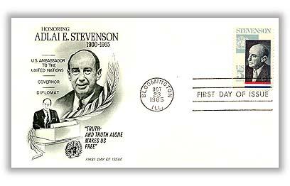1965 5c Adlai Stevenson