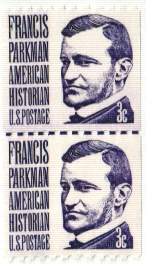 1975 3c Prominent Americans: Francis Parkman, perf 10 horizontal