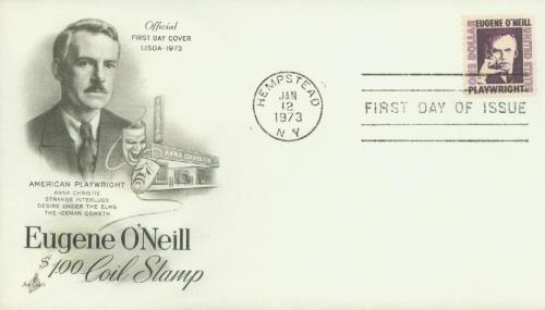 1973 $1 Eugene O'Neill