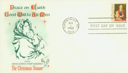 US #1321 – Fleetwood First Day Cover.