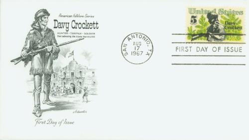1967 Crockett Classic First Day Cover