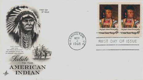 1968 6c American Indian