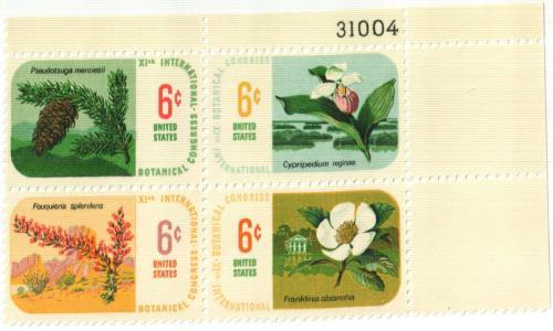 1969 6c Botanical Congress