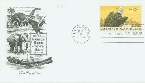 1970 Natural History/Bald Eagle 6c