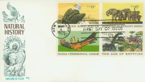 1970 6c Natural History Issue
