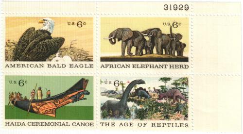 1970 6c Natural History