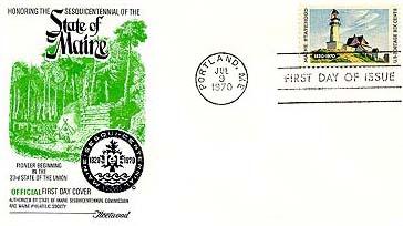 1970 6c Maine Statehood