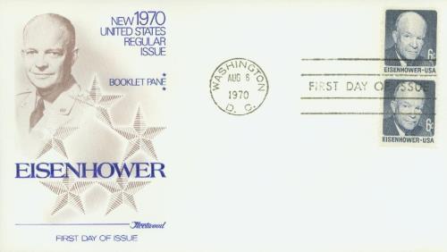 1972 8c D. Eisenhower