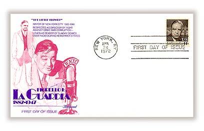 1972 14c Fiorello H. LaGuardia