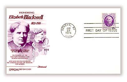 1974 18c Dr. Elizabeth Blackwell