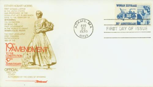 1970 6c Woman Suffrage