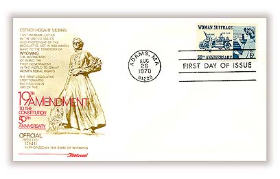 1970 6c Woman Suffrage 50th Anniversary