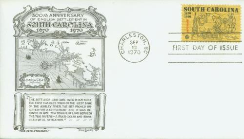 1970 6c South Carolina Tercentenary