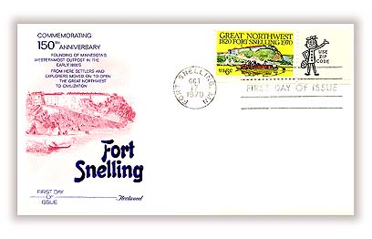 1970 6c Fort Snelling