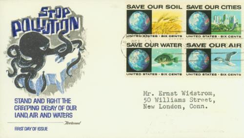 1970 6c Anti-Pollution