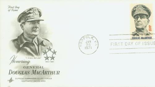 1971 6c General Douglas MacArthur