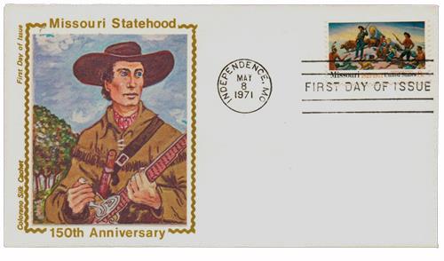 1971 8c Missouri Statehood