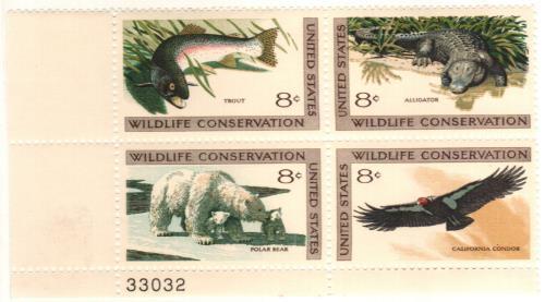 1971 8c Wildlife Conservation