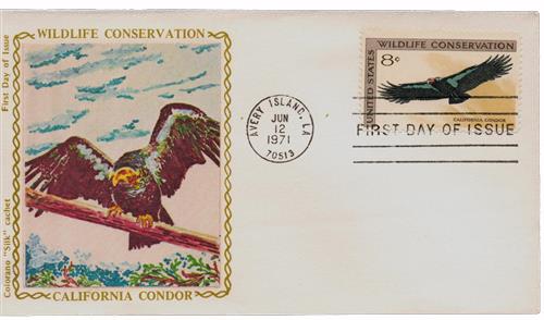 1971 8c Wildlife Conservation: California Condor