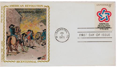 1971 8c American Revolution Bicentennial
