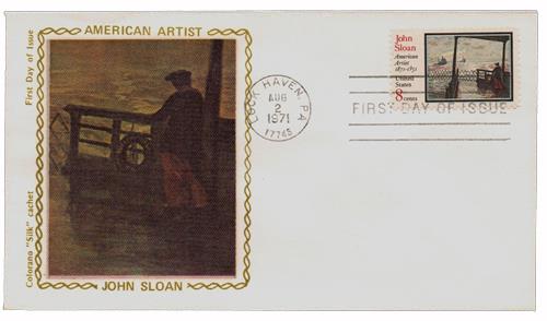 1971 8c John Sloan