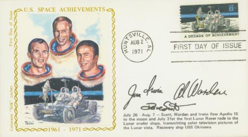 1971 8c Space Achievements: Lunar Rover