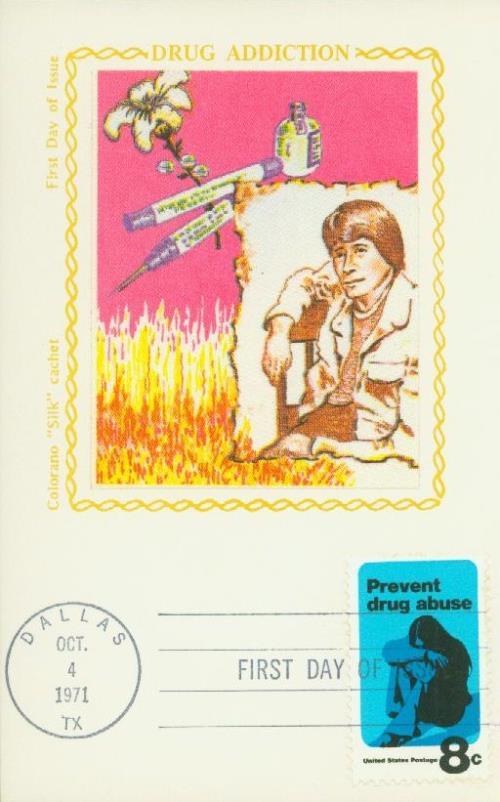 1971 8c Prevent Drug Abuse
