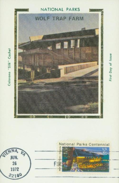 1972 6c National Parks Centennial: Wolf Trap Farm