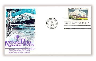1972 15c National Parks Centennial: Mount McKinley, Alaska
