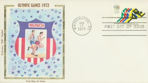 1972 15c 20th Summer Olympic Games