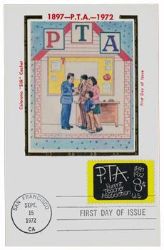 1972 8c Parent-Teacher Association