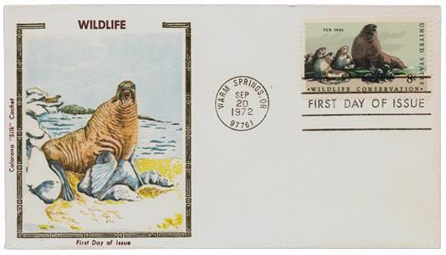 1972 8c Wildlife Conservation: Fur Seal
