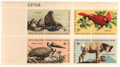 1972 8c Wildlife Conservation