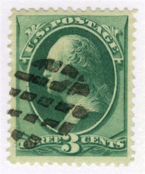 1870-71 3c Washington, green