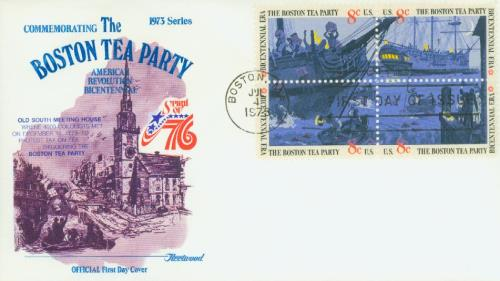 1973 8c Boston Tea Party
