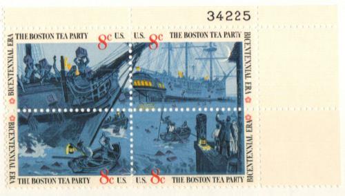 1973 8c Boston Tea Party