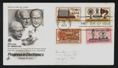1973 ELEC.4VAR. ON ONE COVER