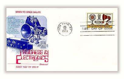 1973 15c Progress in Audio & Visual Electronics